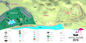 #VESTALVILLAGE MAP